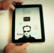 Reel iPad Nº1  2012. Un proyecto de Diseño, Ilustración, Publicidad y UI / UX de Ernesto_Kofla  - Martes, 10 de abril de 2012 00:00:00 +0200