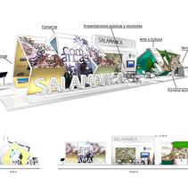 Stand Diputación de Salamanca. Un proyecto de  de Alvaro Portela Martínez - Jueves, 12 de abril de 2012 10:42:45 +0200