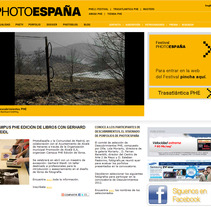 PhotoEspaña 2008. A Design, Software Development, and Photograph project by seven  - 17-04-2012