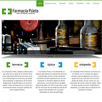WEB DRUPAL 7 Farmacias Prieto. Un proyecto de Diseño e Informática de Juan Mª Seijo         - 18.04.2012