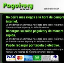 Paguivery. Un proyecto de Diseño y Publicidad de Jose Antonio Rios         - 23.04.2012