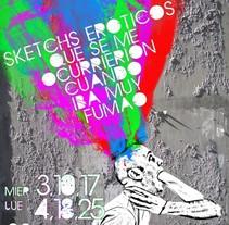 Sketchs eróticos que se me ocurrieron cuando iba muy fumao. A Design project by Gerard Magrí         - 02.05.2012