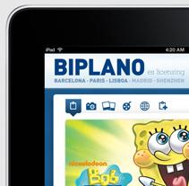 Biplano / iPhone & iPad App. Un proyecto de Diseño y UI / UX de laKarulina  - Viernes, 11 de mayo de 2012 19:23:45 +0200
