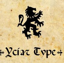 Yciar Type. A Design project by David A. Rittel Tobía (Sechzehn)         - 14.05.2012