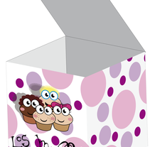 Los muffins. A Design, Illustration, and 3D project by Irene Martos Gomez         - 22.05.2012