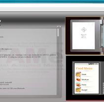 FAMe (E-Menu). Um projeto de Design, Publicidade, Desenvolvimento de software, UI / UX e Informática de Ladislao J. García Patricio         - 31.05.2012