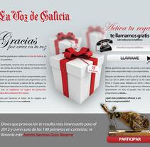Campaña La Voz de Galicia. Um projeto de Design de Jose Parcero Míguez         - 05.06.2012