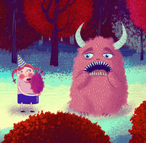 Ilustración digital. Un proyecto de Diseño, Ilustración y Publicidad de Jotaká  - 13-06-2012