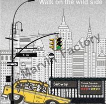Marvin en Nueva York. A Illustration&Installations project by Marvin         - 14.06.2012