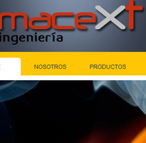 Macext Ingeniería. A Design, Illustration, Software Development, and UI / UX project by Daniela Nettle - Jun 19 2012 05:49 PM