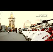 1º Premio Concurso Bicing. Un proyecto de Publicidad, Fotografía, Cine, vídeo y televisión de David Yebra Altuzarra - 22-06-2012
