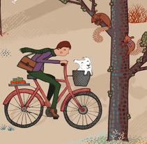 Caminos cruzados. A Illustration project by Sara Olmos - Jul 05 2012 10:01 AM