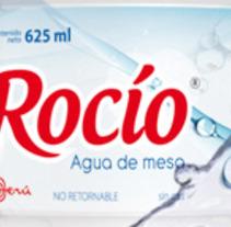 Etiqueta Agua Rocío. A Design project by Ducarne Nicolas         - 06.07.2012