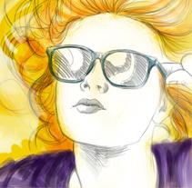 golden pop. A Illustration project by MADFACTORY estudio         - 09.07.2012