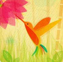Colibrís y otros animales. Un proyecto de Diseño e Ilustración de Natalia de Frutos Ramos - 16-07-2012