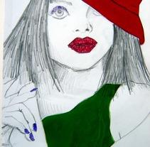 Ilustración Moda. A Illustration project by Marta de la Iglesia         - 19.07.2012
