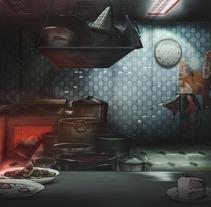 Cocina. Un proyecto de Diseño, Ilustración, Cine, vídeo y televisión de Jose Miguel Balbuena Heredia - 23-07-2012