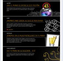 Licor 43: Rock in Rio. Un proyecto de Desarrollo de software y Publicidad de Javier Fernández Molina - Miércoles, 15 de agosto de 2012 11:12:10 +0200