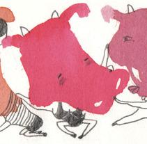 9 cows. Un proyecto de Diseño, Ilustración y Publicidad de Laia Jou - 17-08-2012