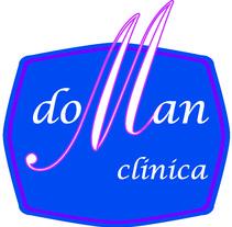 Logotipo para clínica estetica y de fisioterápia DOMAN. A Design, Illustration, Advertising, and Photograph project by Doina Catruna         - 06.09.2012