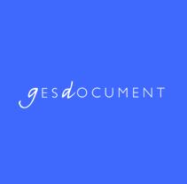 Gesdocument. Un proyecto de Diseño y Publicidad de Iolanda Monge Martí         - 10.09.2012