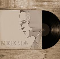 Boris Vian Font. A Design&Illustration project by Rubén Martínez González - Sep 17 2012 01:33 PM