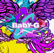 Baby G SHOCK. A Illustration project by paul gavina         - 17.09.2012