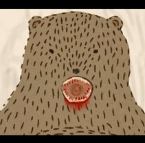 Bird loves the bear. A Illustration, Film, Video, and TV project by Indiana C - 23-09-2012