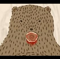 Bird loves the bear. Un proyecto de Ilustración, Cine, vídeo y televisión de Indiana C         - 23.09.2012