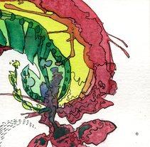 Delirios de Acuarela y tinta. A Design&Illustration project by Sindarta Monleón Herrero         - 15.01.2013