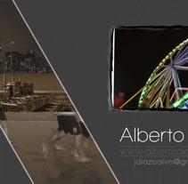 Demo Alberto Díaz. Um projeto de Fotografia e Cinema, Vídeo e TV de Alberto Díaz         - 08.10.2012