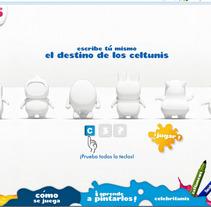 Celtunis. Un proyecto de Desarrollo de software de Ana Pinedo García         - 09.10.2012