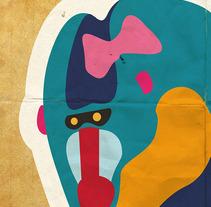 Cartel y Camiseta Bellas Artes Promoción 2007/2012. Un proyecto de Diseño, Ilustración y Publicidad de Álvaro Antonio Redondo Margüello - 10-10-2012