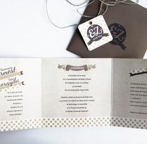 Invitació personalitzada. A Design project by Chakrani         - 17.10.2012