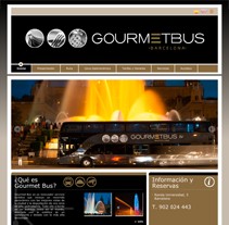 Gourmet Bus (2012). A Design, Advertising&Installations project by Juan Andrés Moreno Rubio - 23-10-2012