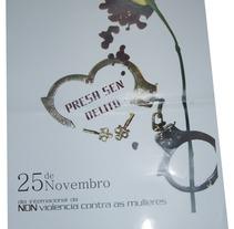Non Violencia de Xénero. A Design project by LILI-LILIÁN  Diseño y Creación Visual - 25-10-2012