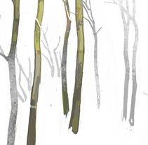 El futuro es un bosque. Um projeto de Ilustração de María Simó         - 29.10.2012