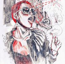 Pencil SKETCHES. Un proyecto de Ilustración de Javier González Pacheco         - 30.10.2012