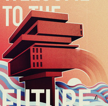 welcome to the future. Un proyecto de Ilustración de Marc Ribera         - 05.11.2012