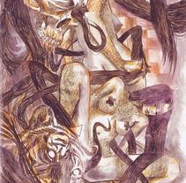 Acrílicos mixtos. Un proyecto de Ilustración de Javier González Pacheco         - 11.11.2012