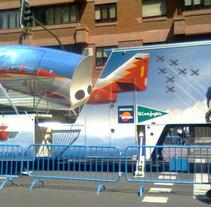 Flight Simulator Graphic Design. A Design, Advertising&Installations project by Gloria Peiró Pérez         - 16.11.2012