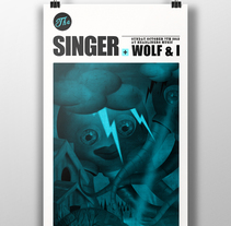 The Singer. A Design&Illustration project by Sergio Millan         - 26.12.2012