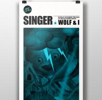 The Singer. Un proyecto de Diseño e Ilustración de Sergio Millan         - 26.12.2012