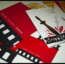 Diseño Cinematográfico. Um projeto de Design, Ilustração, Publicidade, Motion Graphics, Fotografia, Cinema, Vídeo e TV, UI / UX e Informática de José Miguel De Lamo - 14-12-2012