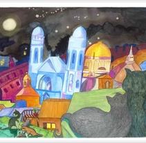 Donación de ilustraciones . A Illustration project by Estrella Nicolás López         - 03.01.2013