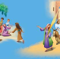 Ilustracion Biblia 2013. Un proyecto de Diseño, Ilustración y Diseño de iluminación de Jose Miguel Balbuena Heredia - 04-04-2014