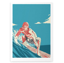 Surf Prints. A Illustration project by Facundo Samman         - 13.01.2013