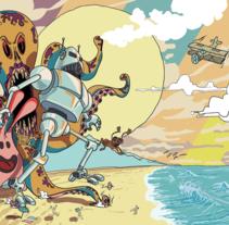 robot. A Design&Illustration project by Xavier Iñarra         - 26.01.2013
