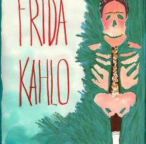 illustrating the diary of Frida Kahlo. Un proyecto de Diseño, Ilustración y Publicidad de Laia Jou - 29-01-2013