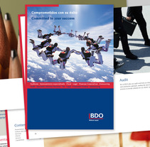 Folleto BDO. A Design, and Advertising project by mariela santalla         - 30.01.2013